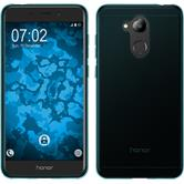 Silicone Case Honor 6C Pro transparent turquoise Case