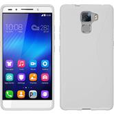 Silicone Case for Huawei Honor 7 S-Style white