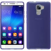 Silicone Case for Huawei Honor 7 transparent purple
