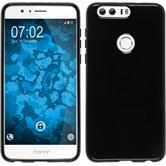 Silicone Case for Huawei Honor 8 crystal-case black