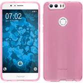 Silicone Case for Huawei Honor 8 crystal-case hot pink