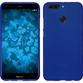 Silicone Case Honor 8 Pro matt blue + protective foils