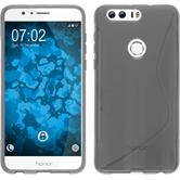 Silicone Case for Huawei Honor 8 S-Style gray