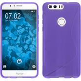 Silicone Case for Huawei Honor 8 S-Style purple