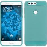Silicone Case Honor 8 Ultimate turquoise