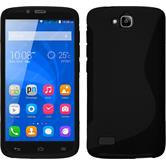 Silicone Case for Huawei Honor Holly S-Style black