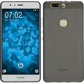 Silicone Case for Huawei Honor V8 transparent black