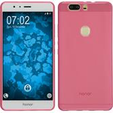 Silicone Case for Huawei Honor V8 transparent pink