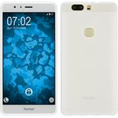 Silicone Case for Huawei Honor V8 transparent white