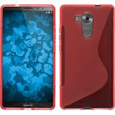 Silicone Case for Huawei Mate 8 S-Style red