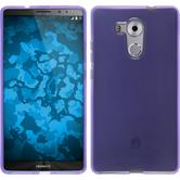 Silicone Case for Huawei Mate 8 transparent purple