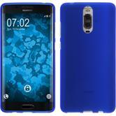 Silicone Case Mate 9 Pro matt blue