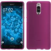 Silicone Case Mate 9 Pro matt hot pink