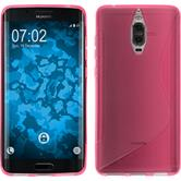 Silicone Case Mate 9 Pro S-Style hot pink