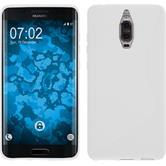 Silicone Case Mate 9 Pro S-Style white