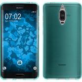 Silicone Case Mate 9 Pro transparent turquoise