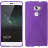 Silicone Case for Huawei Mate S X-Style purple