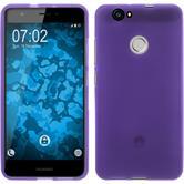 Silicone Case Nova matt purple