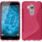 Silicone Case for Huawei Nova Plus S-Style hot pink