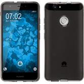 Silicone Case for Huawei Nova transparent gray