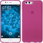 Silicone Case P10 Plus matt hot pink Case