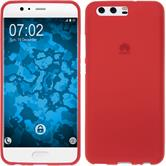 Silicone Case P10 Plus matt red Case