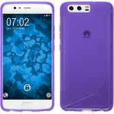 Silicone Case P10 Plus S-Style purple Case