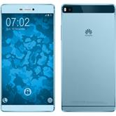 Silicone Case for Huawei P8 360° Fullbody light blue