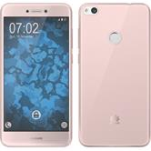 Silicone Case P8 Lite 2017 360° Fullbody pink Case