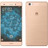 Silicone Case for Huawei P8 Lite 360° Fullbody gold