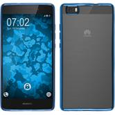 Silicone Case for Huawei P8 Lite Slim Fit blue