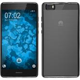 Silicone Case for Huawei P8 Lite Slim Fit gray