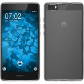 Silicone Case for Huawei P8 Lite Slim Fit silver