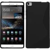 Silicone Case for Huawei P8max S-Style black