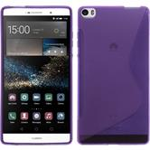 Silicone Case for Huawei P8max S-Style purple