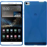 Silicone Case for Huawei P8max X-Style blue