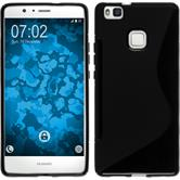 Silicone Case for Huawei P9 Lite S-Style black