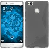 Silicone Case for Huawei P9 Lite S-Style gray