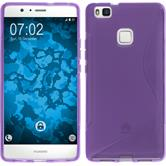 Silicone Case for Huawei P9 Lite S-Style purple
