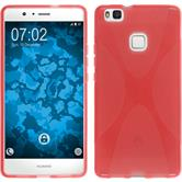 Silicone Case for Huawei P9 Lite X-Style red