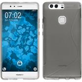 Silicone Case for Huawei P9 Plus S-Style gray