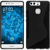 Silicone Case for Huawei P9 S-Style black