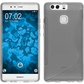 Silicone Case for Huawei P9 S-Style gray