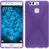 Silicone Case for Huawei P9 X-Style purple