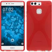 Silicone Case for Huawei P9 X-Style red