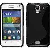 Silicone Case for Huawei Y360 S-Style black