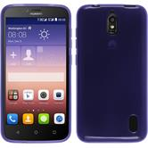 Silicone Case for Huawei Y625 transparent purple