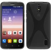 Silicone Case for Huawei Y625 X-Style gray