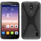 Silicone Case for Huawei Y625 X-Style transparent