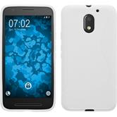 Silicone Case for Lenovo Moto E3 S-Style white